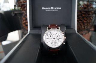 Maurice Lacroix Les Classiques - Lc1038 - Armbanduhr - Uhr - Weiß Bild