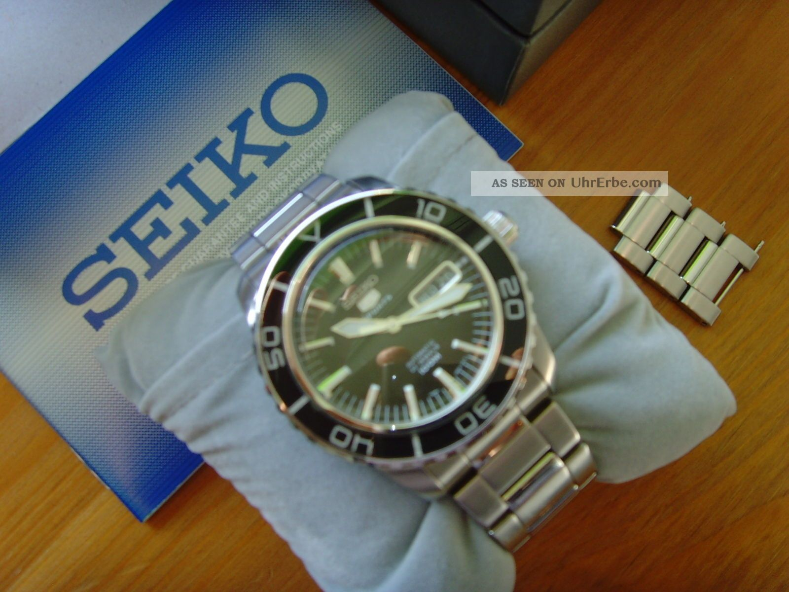 Seiko 5 Sports Snzh55k1 Herrenuhr Armbanduhr Automatik Ovp Armbanduhren Bild