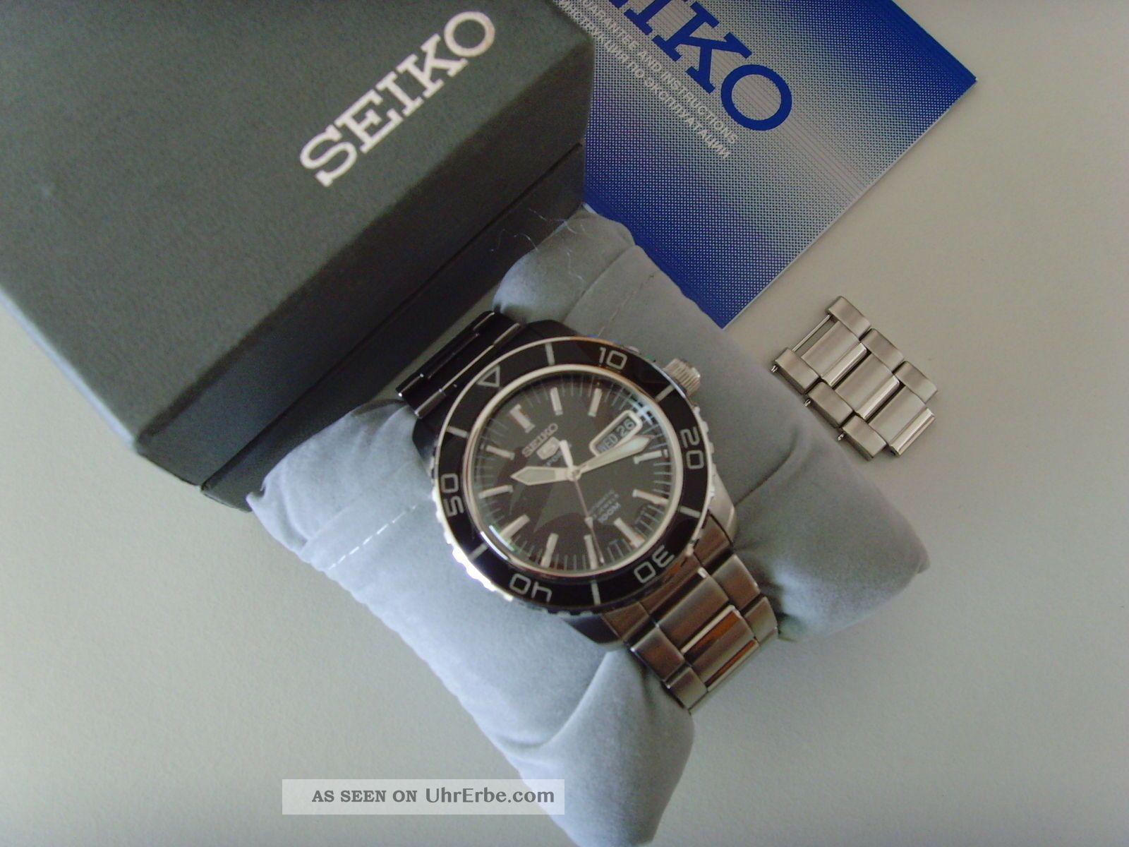 Snzh55k1 Seiko Armbanduhr Automatik Ovp 5 Sports Herrenuhr OPXZkiuT