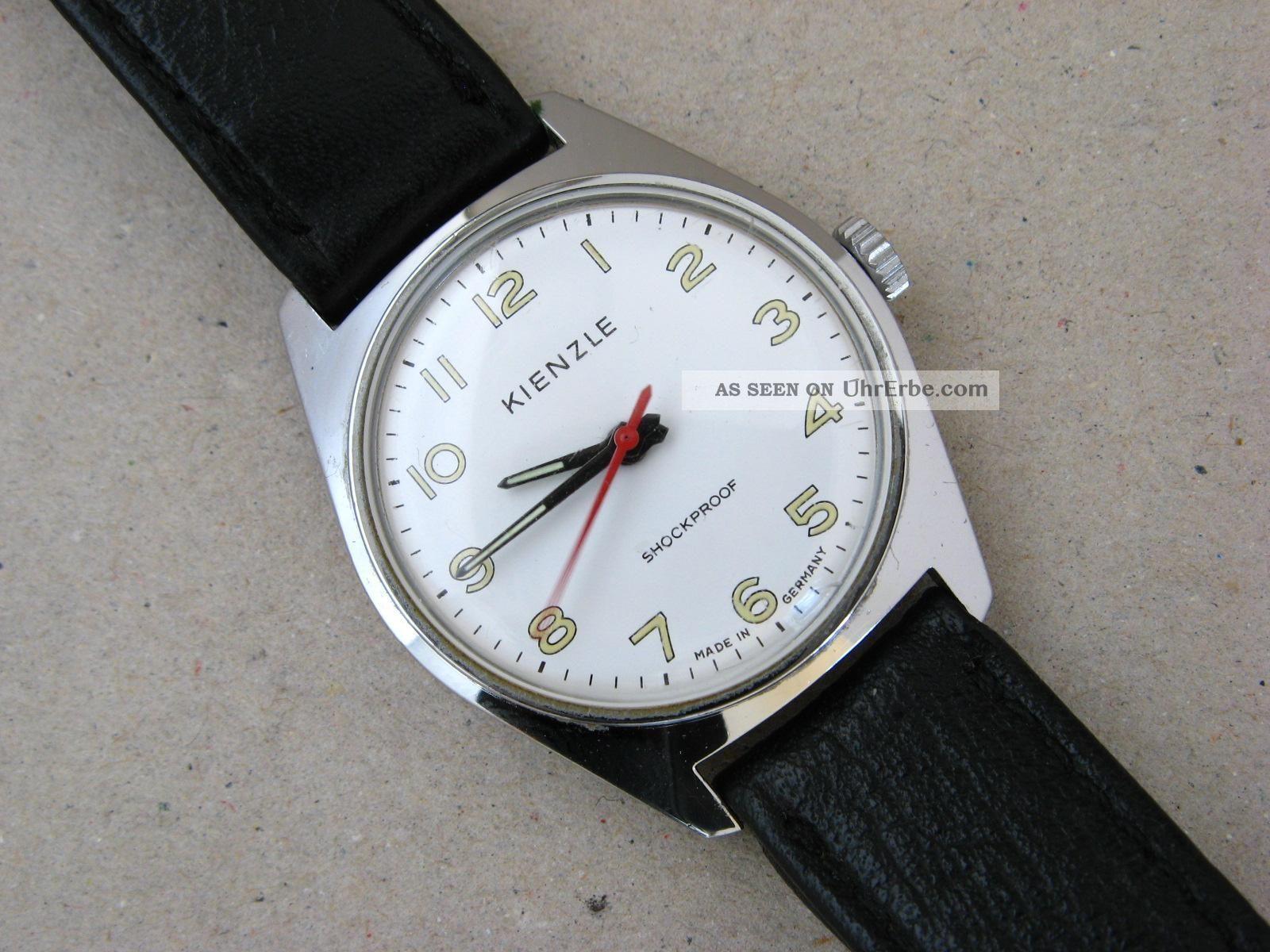 Kienzle Uhr Vintage Watch Armbanduhr Hau Handaufzug Vintage Wrist Watch Armbanduhren Bild