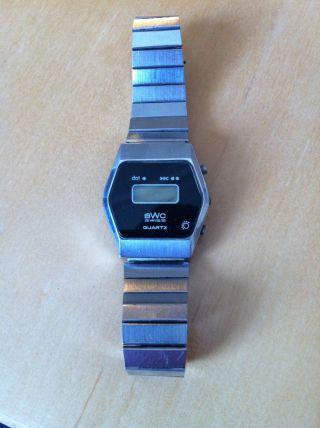 Bwc Quartz Digital Herren Armbanduhr Bild