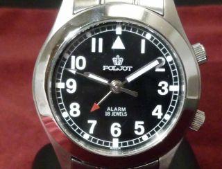 Poljot Armband - Wecker - Uhr Flieger - Uhr Bild