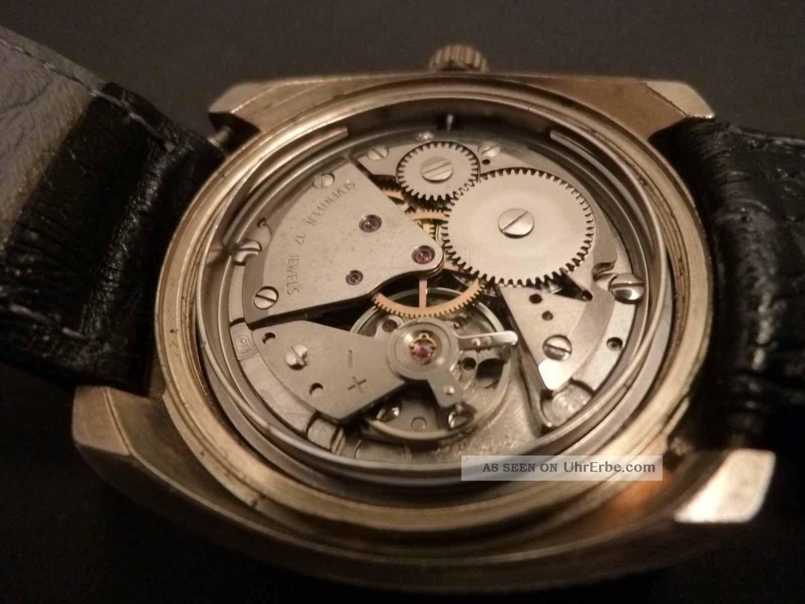 Dugena Classic Mit Interessantem Werk 7422/2 Armbanduhren Bild