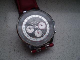 Dolce & Gabbana D&g Herren Chronograph Läuft - Bild