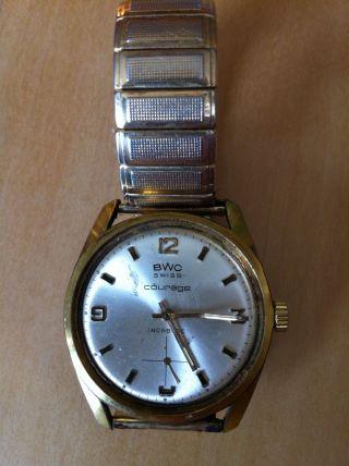 Bwc Courage Herren Armbanduhr Handaufzug Mit Rowi Fixo Flex Bild