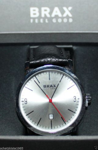 Brax Feel Good Armbanduhr Lederarmband Leder Uhr Bild