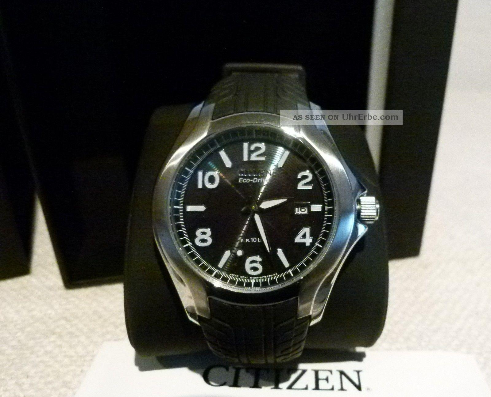 Citizen Bm 6530 - 04 F Eco - Drive Armbanduhr Ungetragen,  Mit Papieren Und Box Armbanduhren Bild