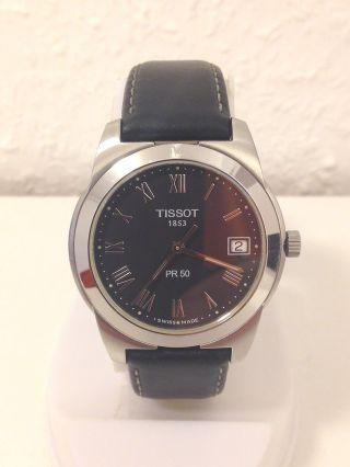 Tissot Pr 50 Edelstahl Herren Armband Uhr Bild
