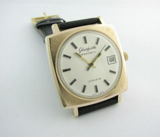 Rarity.  Glashutte Spezimatic.  26 Rubis.  Gold Plated.  Top Bild