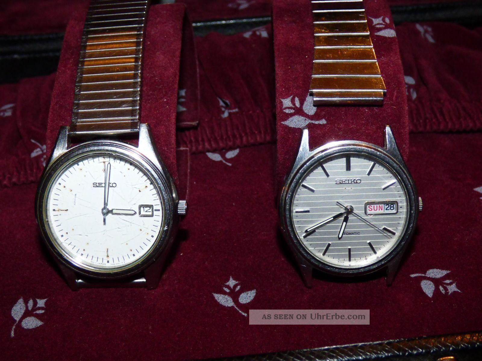 Konvolut Uhren Armbanduhren Bild
