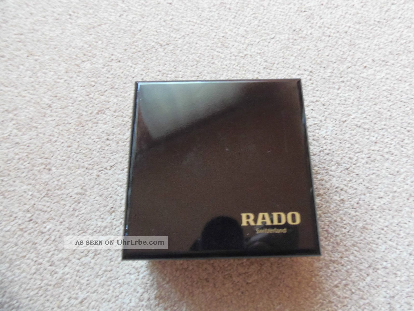 Rado Uhrenbox Aus Holz Mit Wenig Gebrauchtspuren Armbanduhren Bild