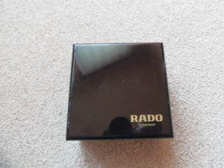 Rado Uhrenbox Aus Holz Mit Wenig Gebrauchtspuren Bild