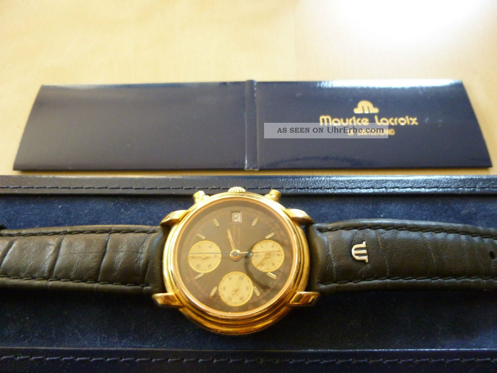 Maurice Lacroix Masterpiece Croneo Automatik Chronograph Armbanduhren Bild