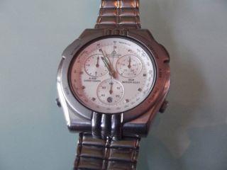 Hau Dugena Quartz Alarm Chronograph Bild