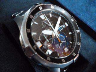 Casio Edifice Efm - 502d - 1avef Chronograph Edelstahl Herrenuhr Bild