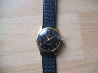 Uhr Sammlung Alte Vintage Ancre 16 Rubis Mechanisch - Handaufzug Herrenuhr Bild
