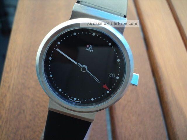 Cr Desigen Swiss Made Herren Armband Uhr Armbanduhren Bild