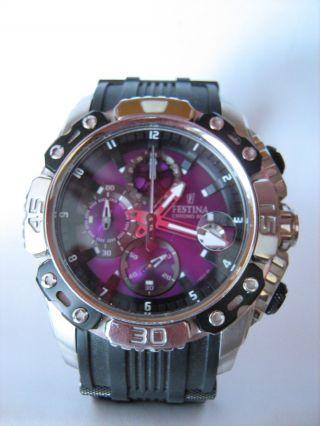 Festina Chrono Bike Chronograph F16543 Herren Armbanduhr Uhr Bild