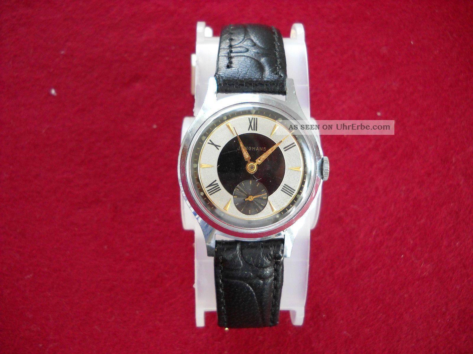 Armbanduhr Junghans 50er 60er Jahre Handaufzug Armbanduhren Bild