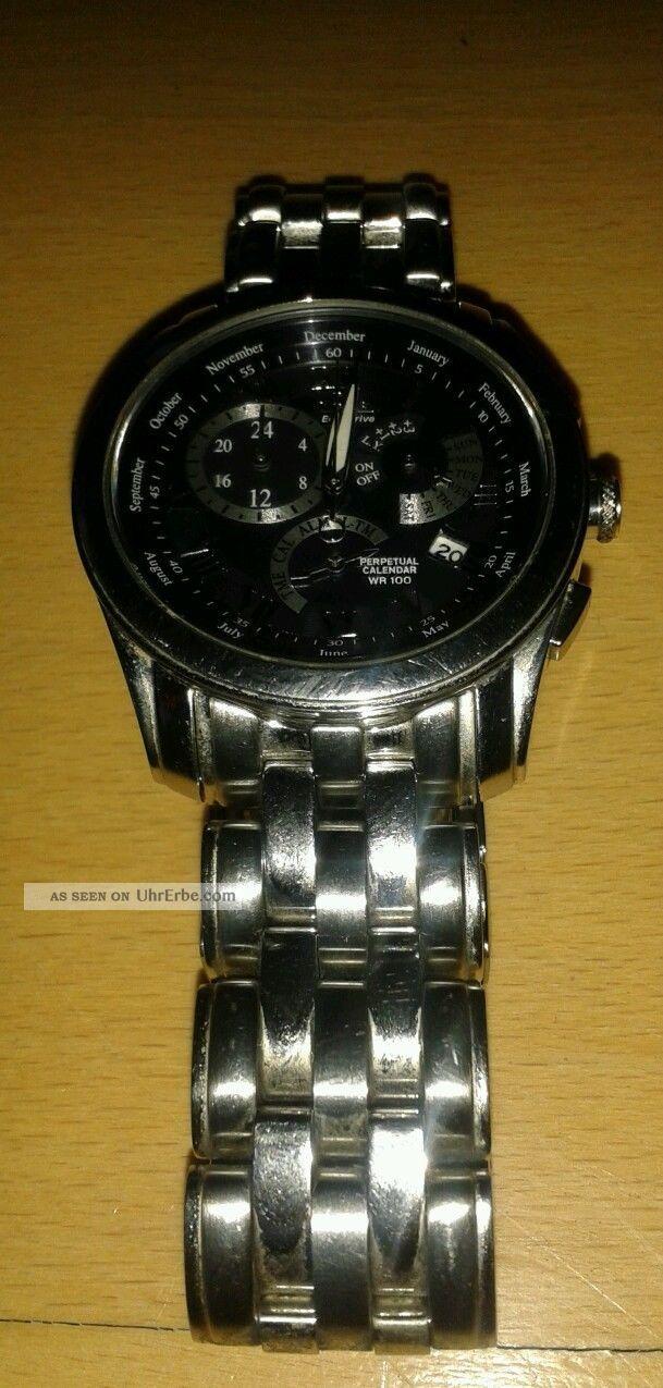 Citizen Eco - Drive E870 - S017891 Hst Herrenuhr Herren Armbanduhren Bild