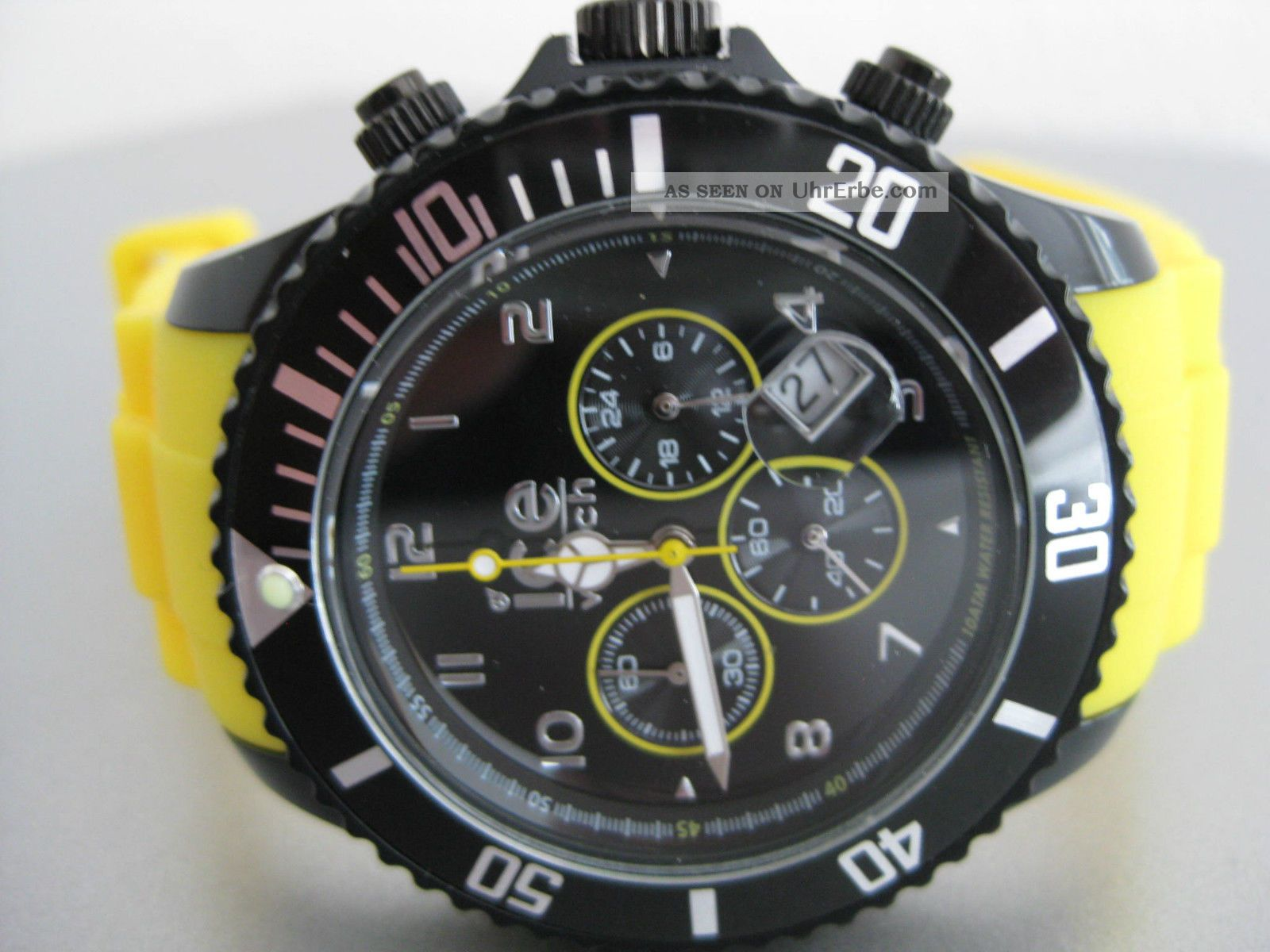 Ice Watch Ice - Chrono Armbanduhr Für Herren (ch.  By.  B.  S.  10) Armbanduhren Bild