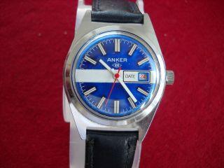 Armbanduhr Anker Kr 60er 70er Jahre Handaufzug Bild