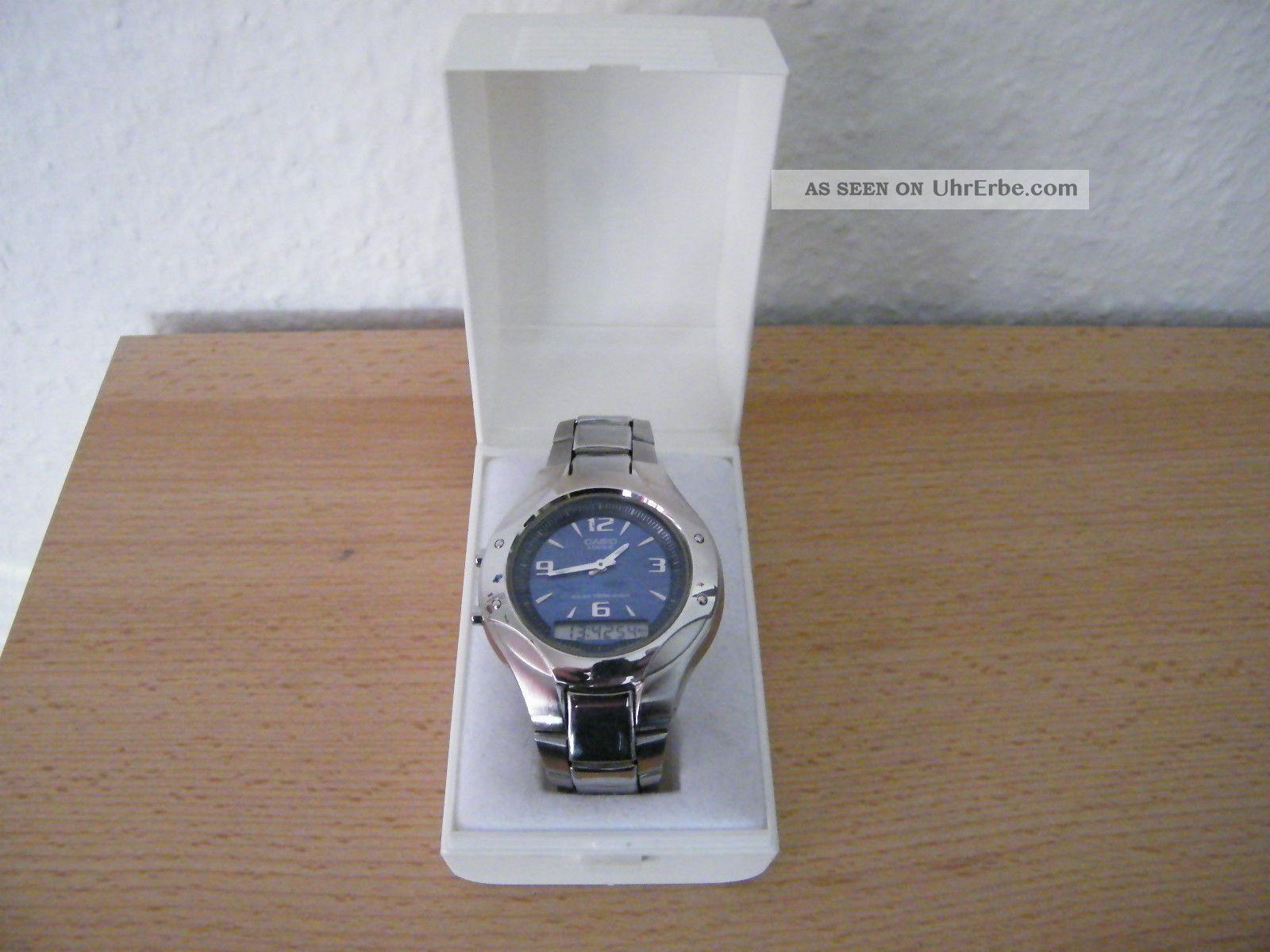 Casio Edifice Wunderschöne Armband Uhr Mit Edelstahl Armband Armbanduhren Bild