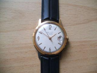 Uhr Sammlung An Bastler Alte Russische Poljot 17jewels Mechanisch Herrenuhr Bild