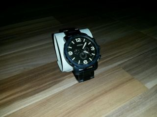 Fossil Nate Jr1356 Armbanduhr Für Herren Bild