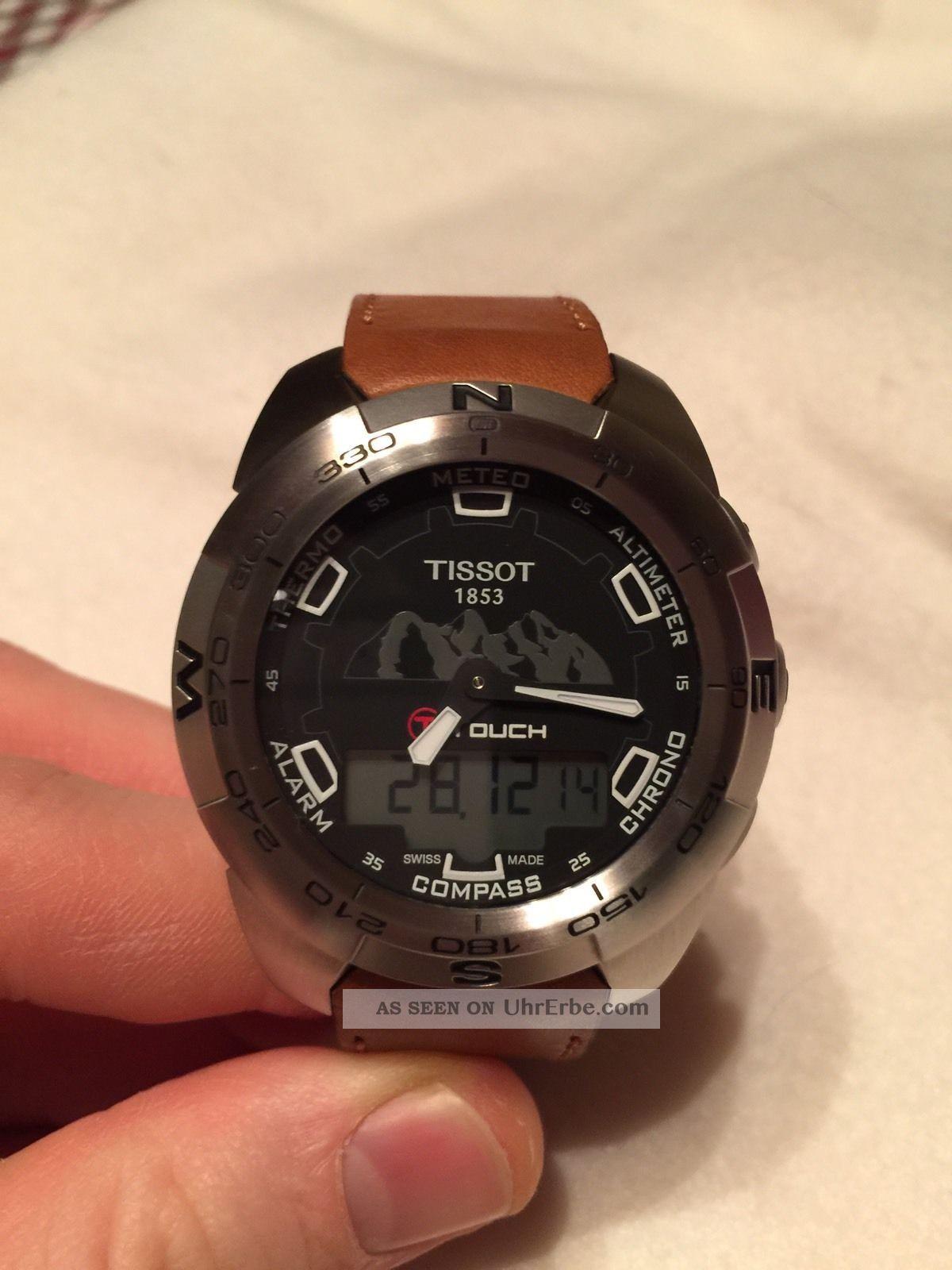 Tissot T - Touch Expert Jungfraubahn Armbanduhren Bild