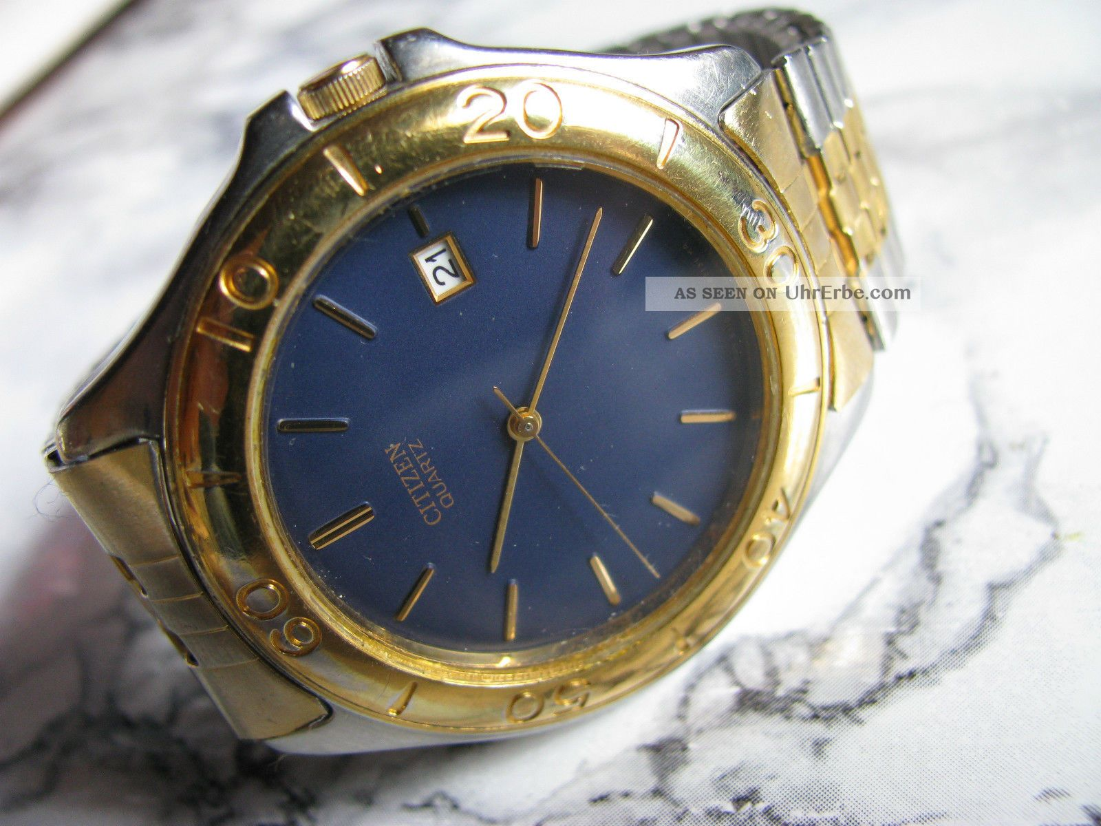 Citizen - Herren - Armbanduhr Mit Quarzwerk Und Datumsanzeige Armbanduhren Bild