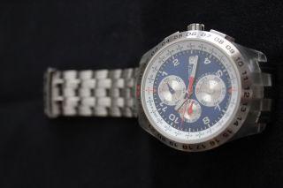 Swatch Irony Blunge - Svgk400g - Automatik Chronograph Bild