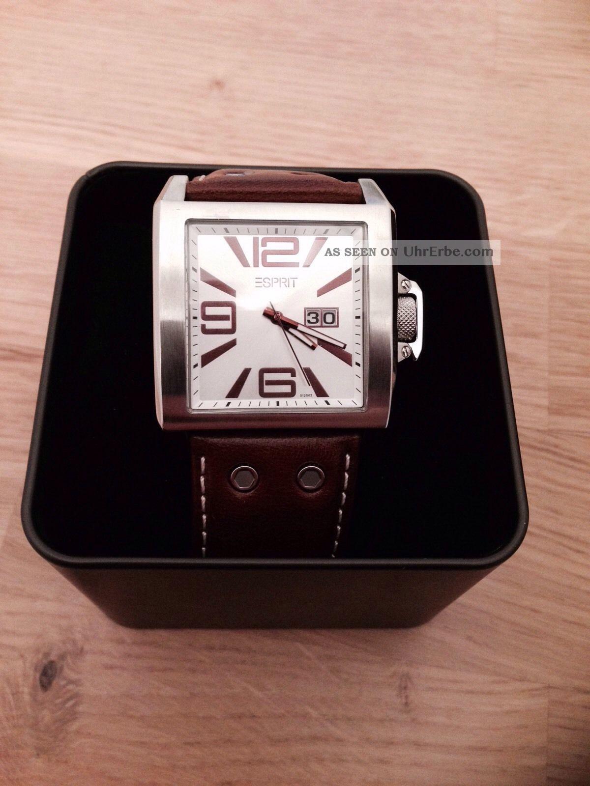 Esprit Herren Uhr Armbanduhren Bild