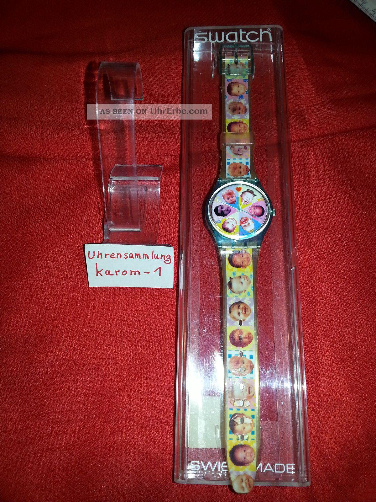 Swatch Gent Sweet Baby Gl107 1996 & Ungetragen In Ovp Uhrensammlung Top Armbanduhren Bild