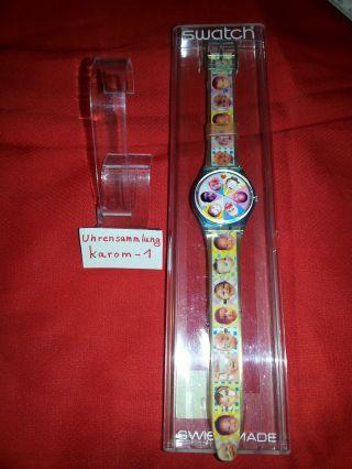 Swatch Gent Sweet Baby Gl107 1996 & Ungetragen In Ovp Uhrensammlung Top Bild
