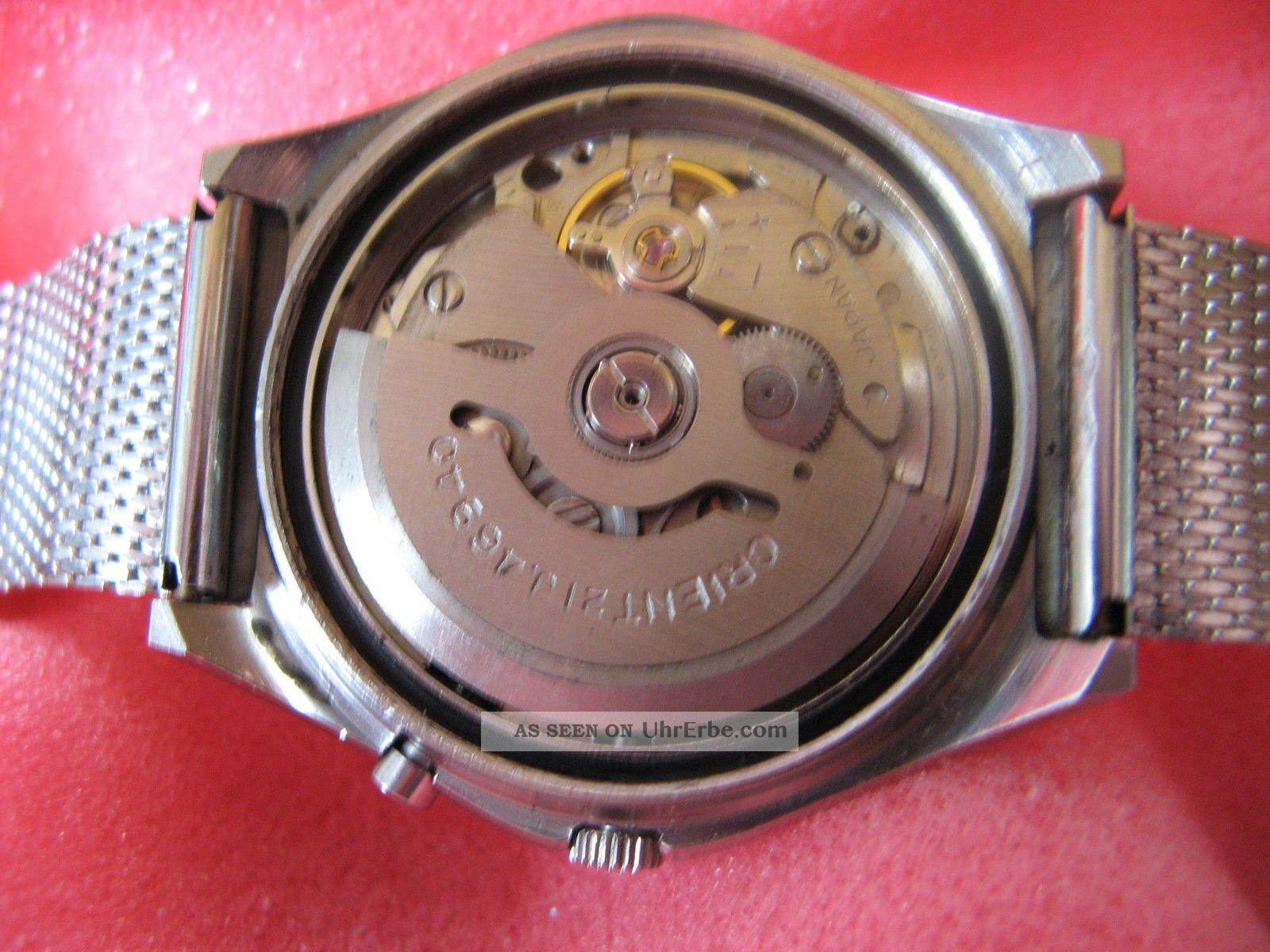 Orient Automatik Herrenuhr Top LÄuft Armbanduhren Bild
