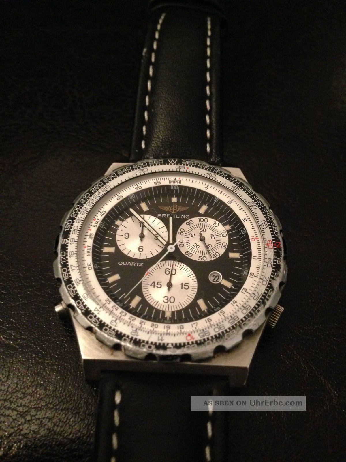 Breitling Jupiter Pilot Navitimer Chronograph Armbanduhren Bild