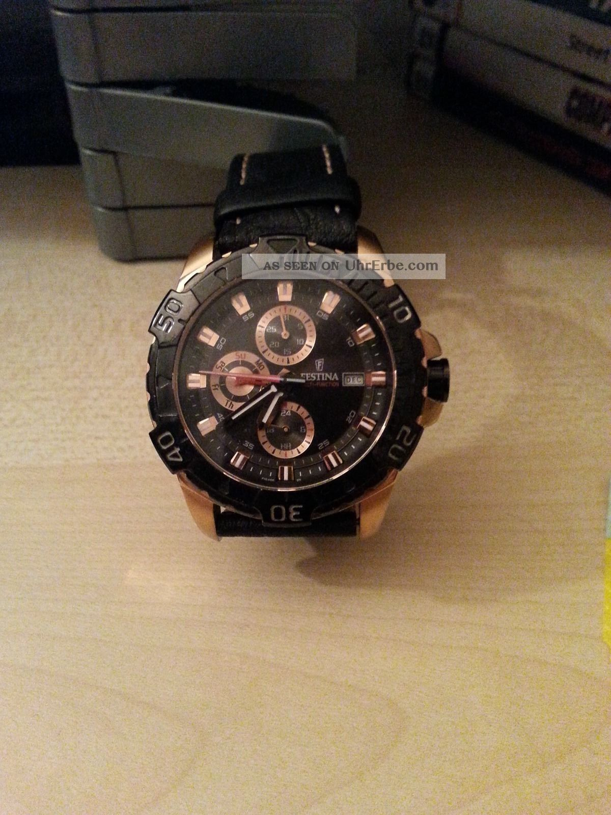 Festina Herrenuhr F16455 Armbanduhren Bild
