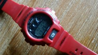 Casio G - Shock 1289dw - 6900,  Retro Bj.  99 Sammlerstueck In Rot Bild