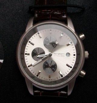 Bergmann Chronograph Herrenarmbanduhr Nr.  05281 Sammlerstück In Ovp Bild