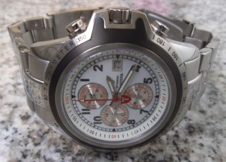 Detomaso Mantova 5 Atm Herrenuhr Chronograph Armband Uhr Watch Miyota Uhrwerk Bild
