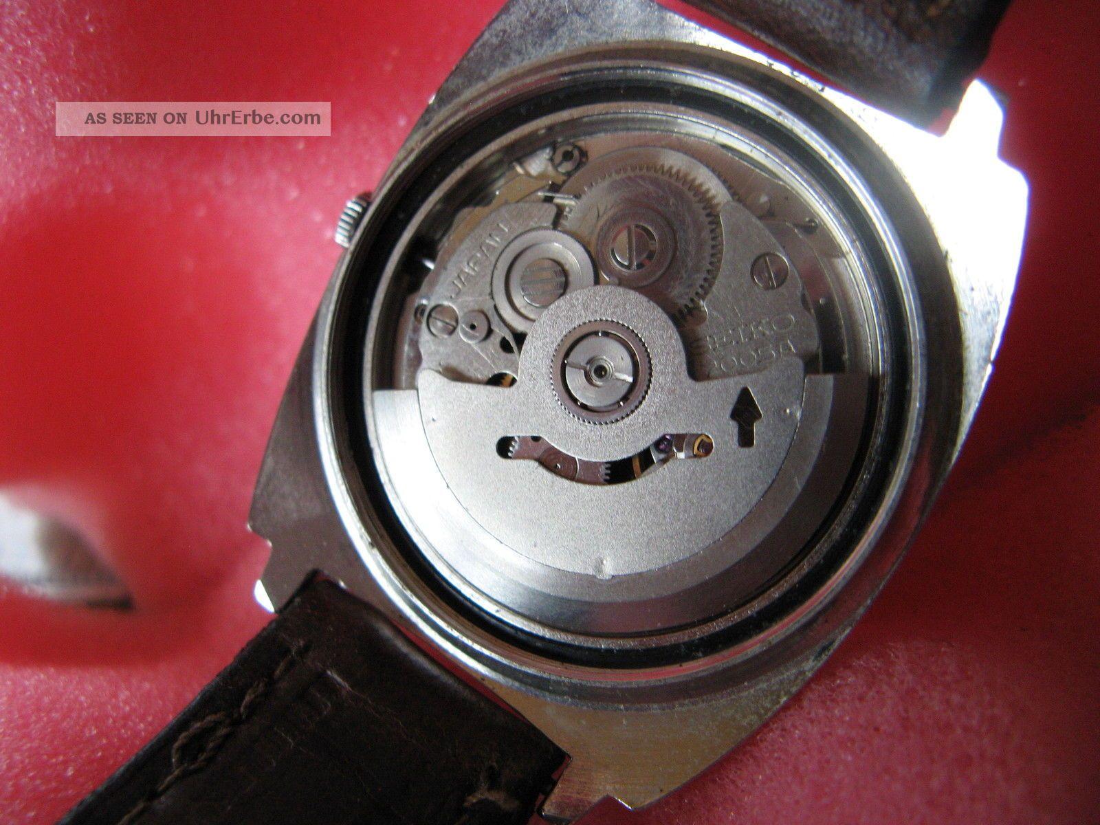 Seiko Automatik Herrenuhr Top LÄuft Armbanduhren Bild