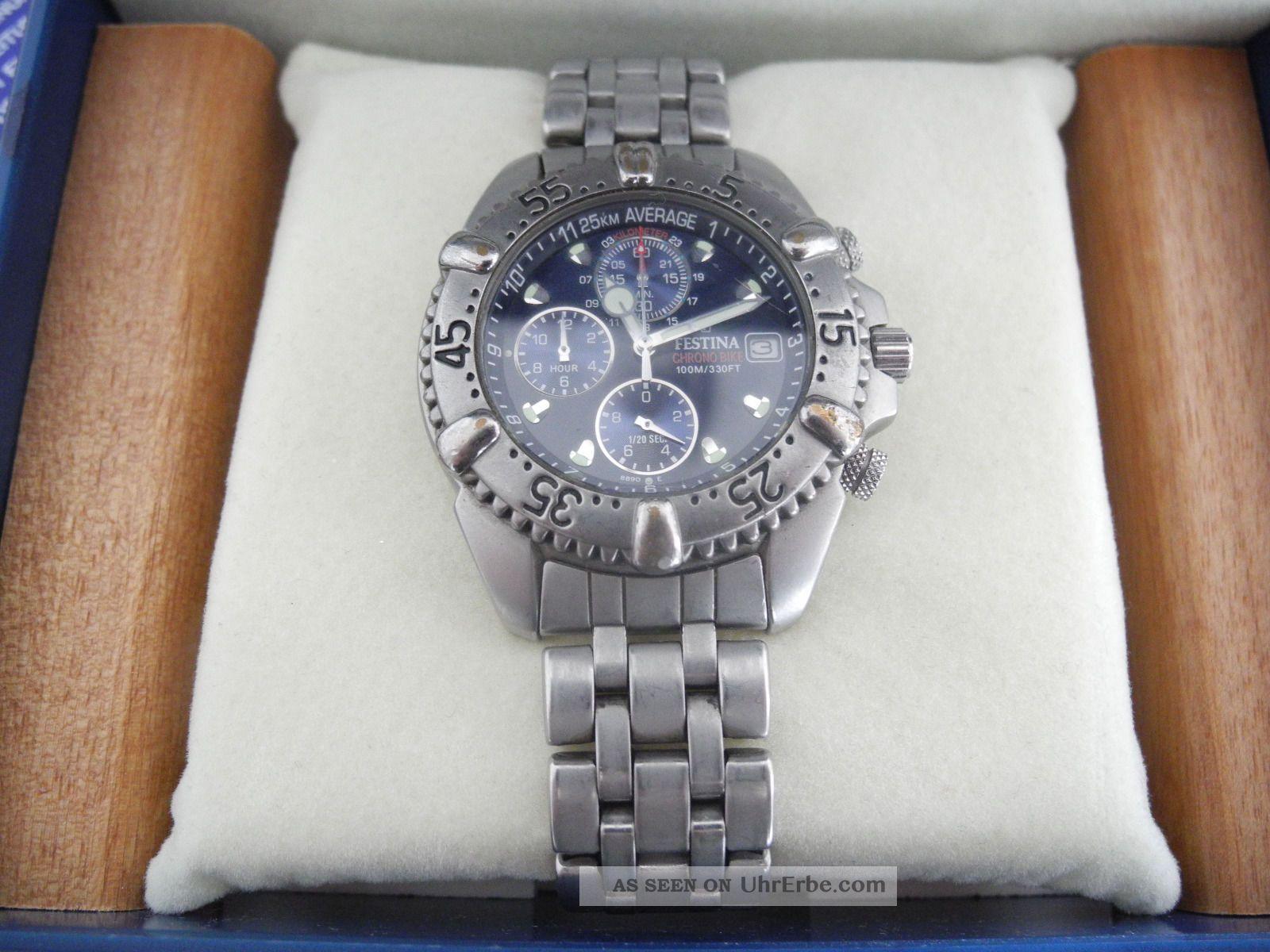 Festina Uhr Chronograph Armbanduhren Bild