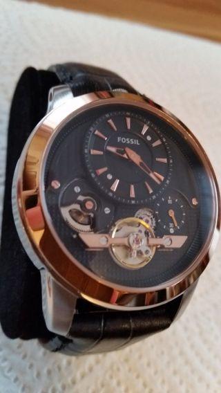 Fossil Herren Uhr Automatik - Grant Twist Me1125 Bild