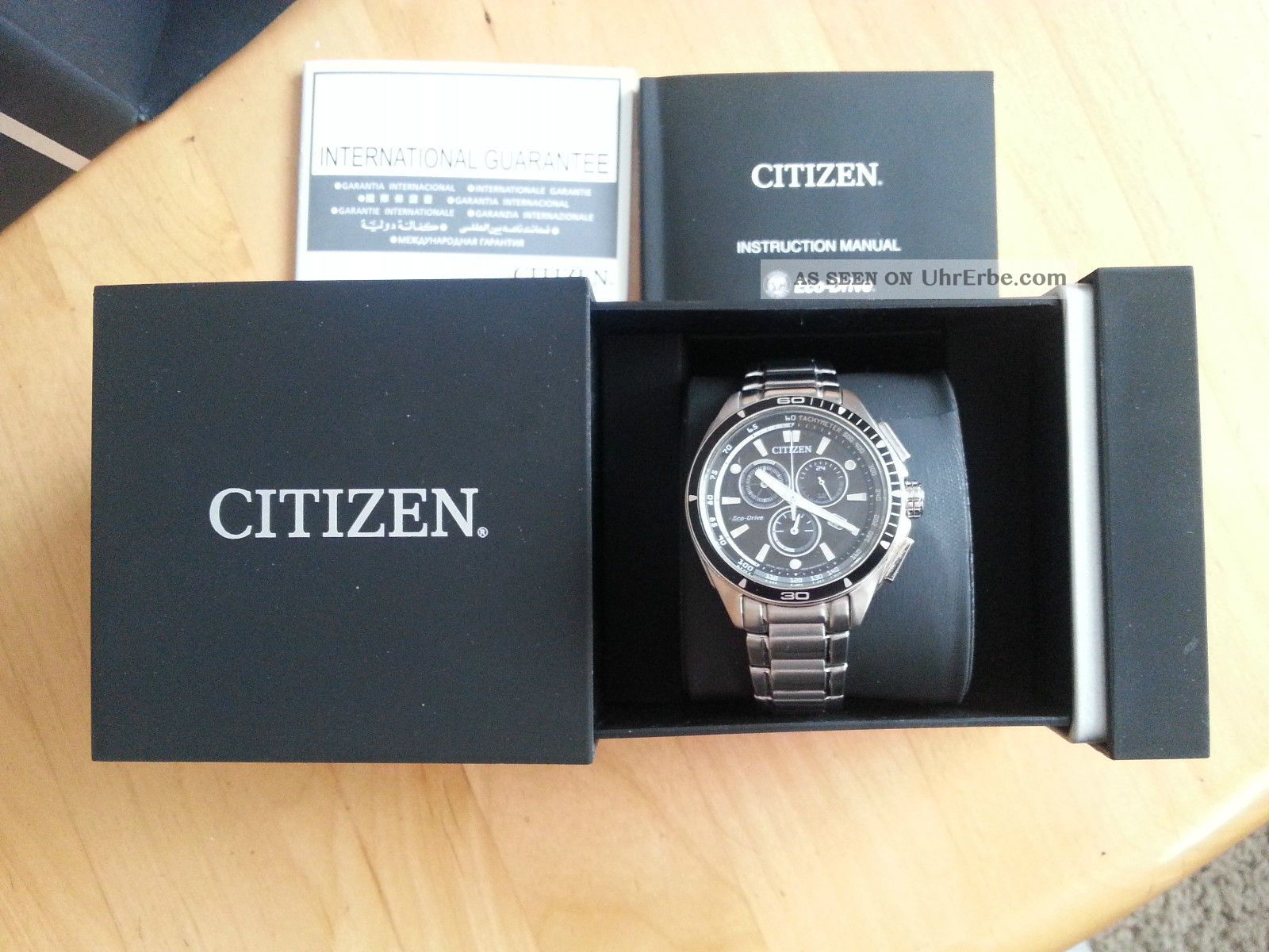 Citizen At0956 - 09e Armbanduhren Bild
