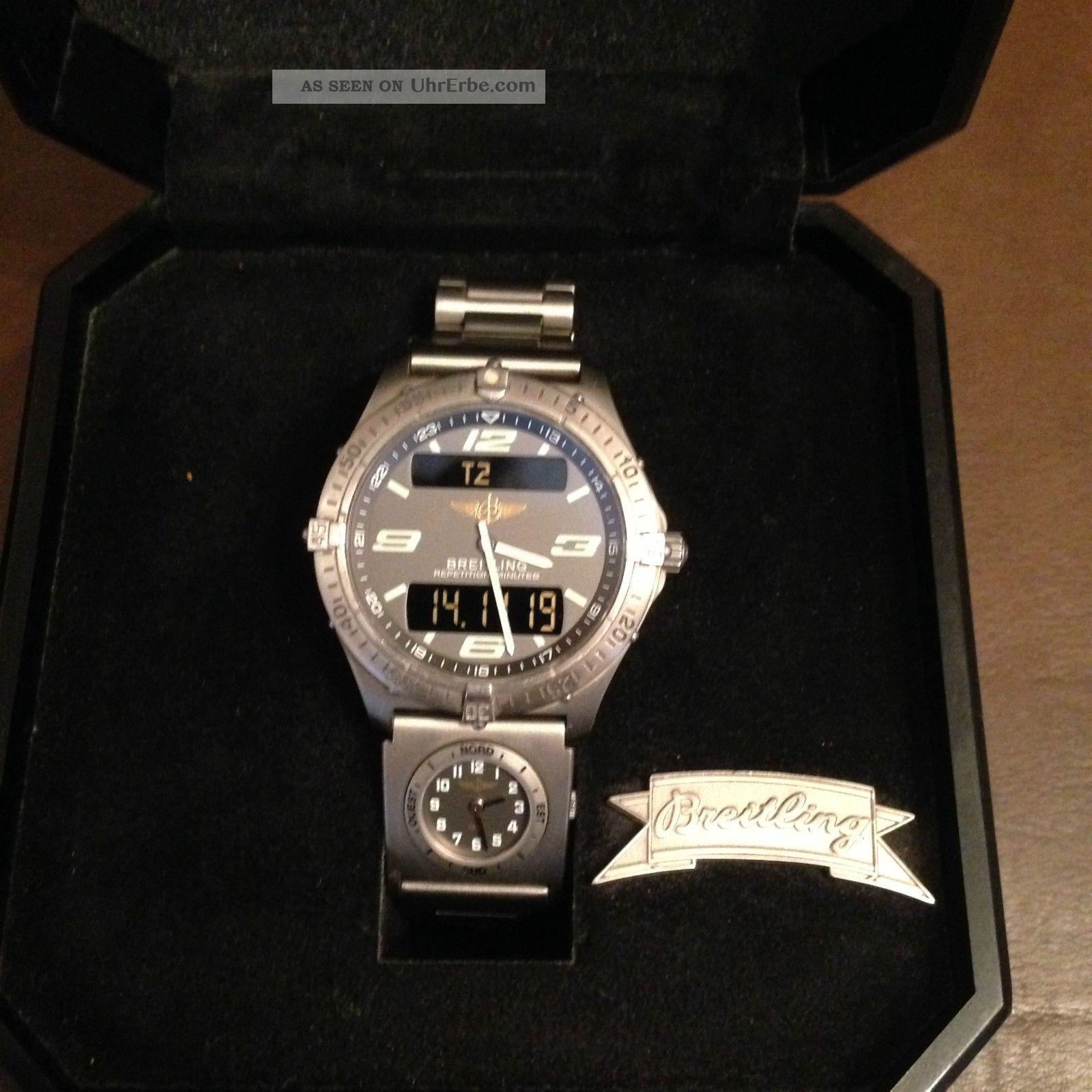 Breitling Uhr Aerospace Titan Armbanduhren Bild