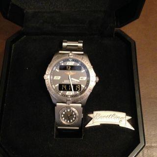 Breitling Uhr Aerospace Titan Bild