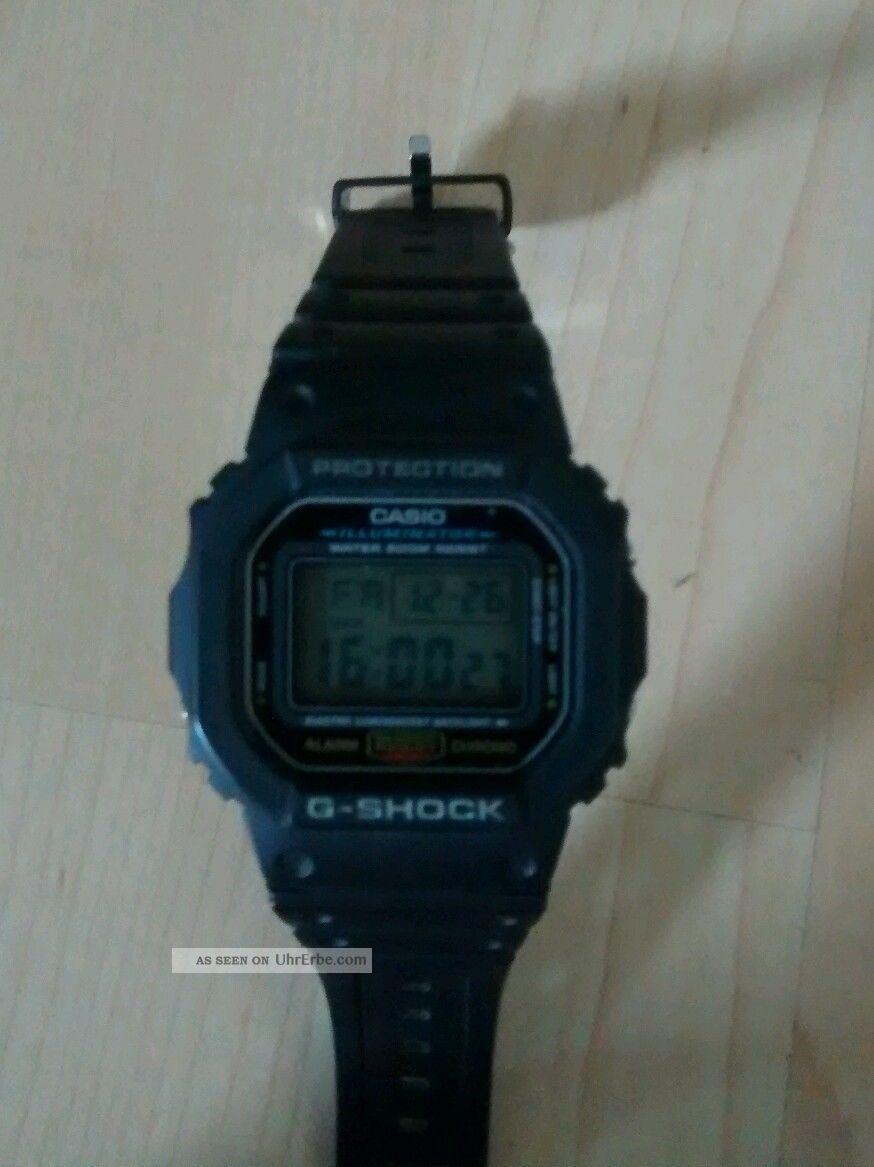 Casio G - Shock Dw - 5600e - 1ver Armbanduhr Für Herren Armbanduhren Bild
