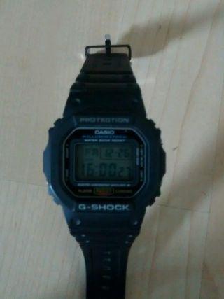 Casio G - Shock Dw - 5600e - 1ver Armbanduhr Für Herren Bild