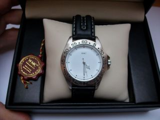 Wmc Timepieces Herren Lederarmbanduhr In Ovp Bild